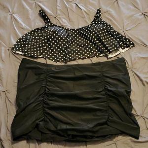 NWOT 2 Piece Torrid Bikini Bathing Suit size 5
